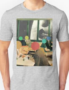 Bar with a view (without frame). Unisex T-Shirt