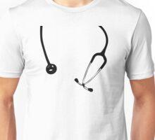 Funny Doctor Instrument Nurse Stethoscope Print Unisex T-Shirt