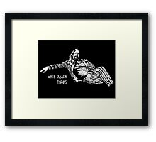 The Big Lebowski - quote Framed Print