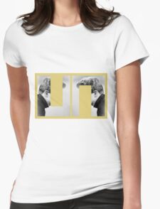 LOOK ME IN THE EYES AND ... Womens Fitted T-Shirt