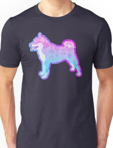 Vaporwave Dog Full Doggo Aesthetic Unisex T-Shirt