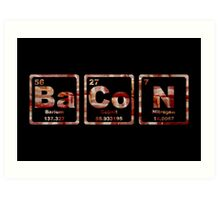 Bacon - Periodic Table - Photograph Art Print