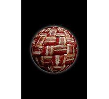 Bacon-Wrapped Football Soccer Ball 2 Photographic Print
