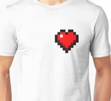 Minecraft heart Unisex T-Shirt