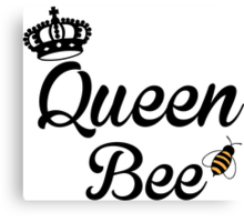 Queen, Bee Canvas Print