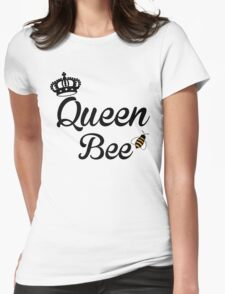 Queen, Bee Womens Fitted T-Shirt