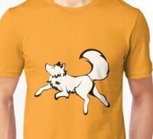 Inky Fox 2 - Black & White Unisex T-Shirt