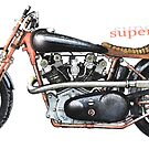A Superior Motorcycle by JohnLowerson