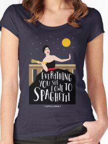 Sophia Loren Women's Fitted Scoop T-Shirt