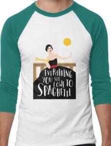 Sophia Loren Men's Baseball ¾ T-Shirt