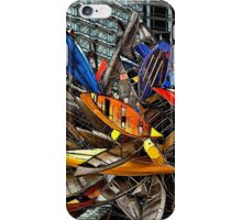 Big-Edge Aluminum Boat Sculpture iPhone Case/Skin
