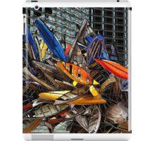 Big-Edge Aluminum Boat Sculpture iPad Case/Skin