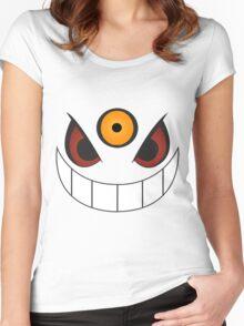 Mega Gengar Close-Up Women's Fitted Scoop T-Shirt
