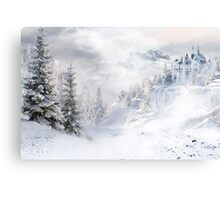A Winters Tale Canvas Print