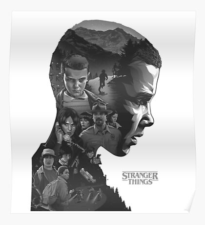 eleven from stranger things Poster
