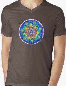 Infinite Universe mandala Mens V-Neck T-Shirt