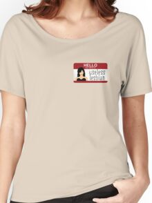 Useless Lesbian Name Tag - Carmilla Women's Relaxed Fit T-Shirt