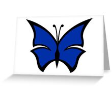 The Blue Morpho Greeting Card