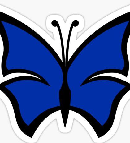 The Blue Morpho Sticker