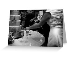 Cake Cutting Greeting Card