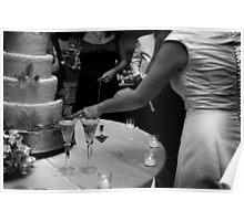 Cake Cutting Poster