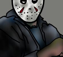 Jason, the most interesting boogeyman in the world. Sticker
