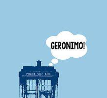 """GERONIMO!"" - 11th Doctor by wessaandjessa"
