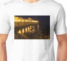 Sicilian Glow - Ortygia Island in Syracuse Sicily from the Sea Promenade Unisex T-Shirt