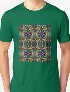 Stained Glass-like Op Art T-Shirt