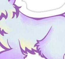 Inky Fox 2 - Color Sticker