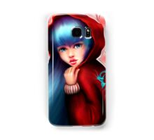 Red Riding Hood - Skater Girl in Forest Samsung Galaxy Case/Skin