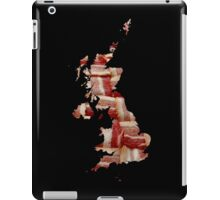 United Kingdom - British Bacon Map - Woven Strips iPad Case/Skin