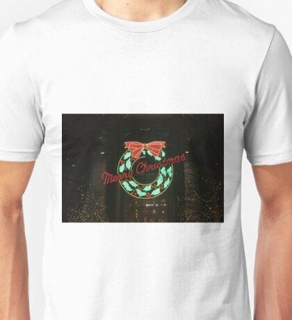 Christmas Wreath - Landscape Unisex T-Shirt