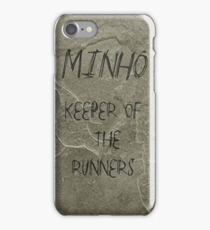 The Maze Runner - Minho Carving  iPhone Case/Skin