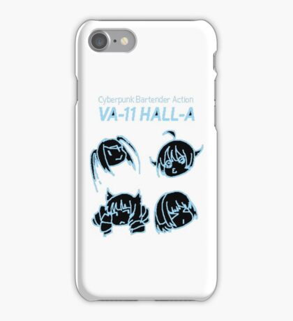 VA-11 HALL-A SAVE TIME iPhone Case/Skin