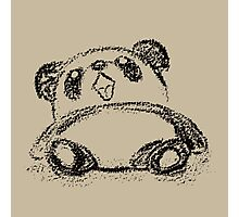 Panda sketch Photographic Print