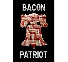 Bacon Patriot - American Liberty Bell - United States of America Photographic Print