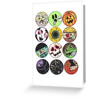 Halloween Ghouls Greeting Card