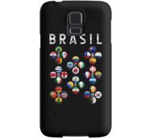Brasil - World Football or Soccer - 2014 Groups - Brazil Samsung Galaxy Case/Skin