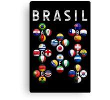 Brasil - World Football or Soccer - 2014 Groups - Brazil Canvas Print
