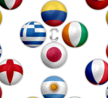 Brasil - World Football or Soccer - 2014 Groups - Brazil Sticker