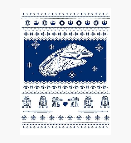 Nerd Pixel Christmas III Photographic Print
