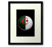 Algeria - Algerian Flag - Football or Soccer 2 Framed Print