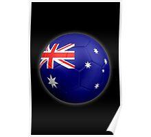 Australia - Australian Flag - Football or Soccer 2 Poster