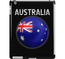 Australia - Australian Flag - Football or Soccer Ball & Text 2 iPad Case/Skin