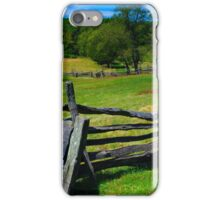 farm pasture iPhone Case/Skin