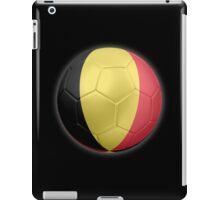 Belgium - Belgian Flag - Football or Soccer 2 iPad Case/Skin