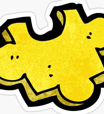 cartoon puzzle piece Sticker