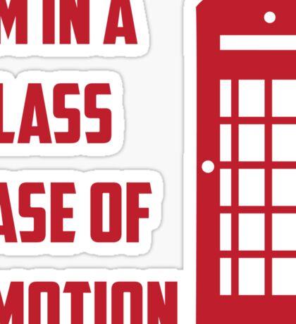 Glass Case of Emotion Sticker
