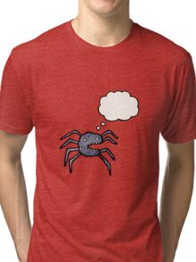 cartoon spider Tri-blend T-Shirt